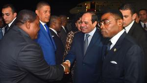 """السيسي يشكر من ساهم في """"نجاح"""" القمة العربية الأفريقية بعد انسحاب المغرب والسعودية"""