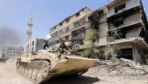 استمرار الصراع الدموي في سوريا