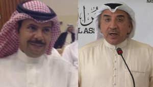 الاعلامي سعد العجمي والنائب عبدالحميد دشتي