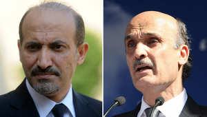 """دمشق ترد بهجوم مزدوج على الجربا وجعجع بعد اتصالهما """"الرئاسي"""""""