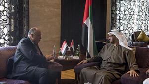 رسالة من السيسي إلى الشيخ خليفة.. وشكري: نقدر دعم الإمارات لمصر