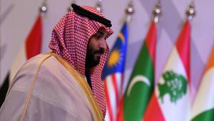 الأمير محمد بن سلمان يحاول الصحفيين.. ماذا قال عن قطر وخطر العثمانيين؟