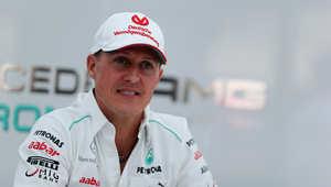 بطل سباقات الفورمولا وان مايكل شوماخر