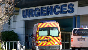 صورة ارشيفية للمستشفى الفرنسي الذي نقل إليه شوماخر عقب الحادث