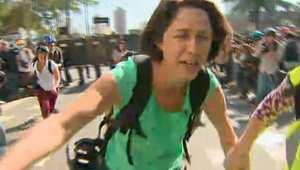 إصابة اثنين من فريق CNN بالبرازيل في مصادمات ساو باولو