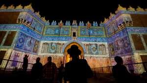 مهرجان أضواء القدس.