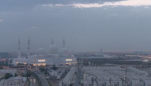 مسجد الشيخ زايد بأبوظبي