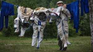 موظف في مركز تدريب الفضاء الروسي.