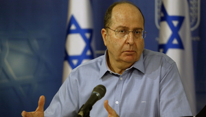 وزير الدفاع الإسرائيلي موشيه يعالون