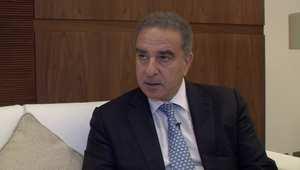 وزير السياحة اللبناني ميشيل فرعون