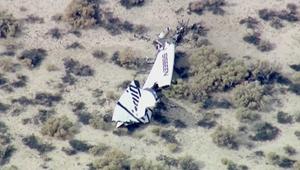 تحطم مركبة فضاء أمريكية أثناء انطلاقها برحلة تجريبية