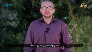 القاعدة في اليمن تنشر تسجيل فيديو لرهينة أمريكي وتهدد بقتله خلال 3 أيام