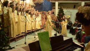 مسيحيو سوريا يحتفلون بأعياد السلام على وقع الحرب
