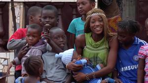 ناجية من إيبولا