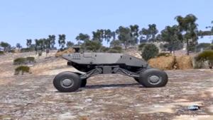مستقبل المركبات العسكرية.. أخف وأسرع