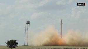 بعد انفجار أول صاروخ قابل لاعادة الاستخدام.. فالكون 9 أمام تحدي كبير