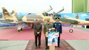 إيران تكشف عن مقاتلة جديدة وتصفها بالمتطورة