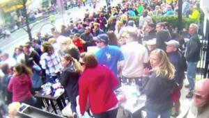 فيديو جديد.. يظهر لحظة انفجار ماراثون بوسطن من زاوية أخرى بين الجمهور