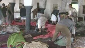 """بالفيديو.. تفجيرات انتحارية تهز مسجدين باليمن وداعش """"يتبنى"""" العملية"""
