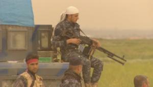 بالفيديو.. معارك لمقاومة داعش في كركوك
