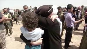 داعش يطلق سراح 216 محتجزا أيزيديا في كركوك