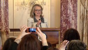 هيلاري كلينتون تعلن الترشح للانتخابات الرئاسية