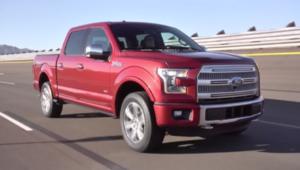 """بالفيديو.. شاحنة """"فورد F150"""" أكثر أماناً وأخف وزناً"""
