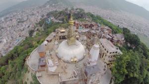 لقطات حصرية من طائرة بدون طيار.. هكذا أصبحت كاتماندو بعد الزلزال المدمر