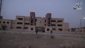 داعش ينشر تسجيلاً يزعم فيه سيطرته على سجن بالحسكة