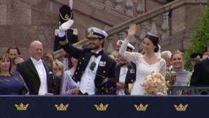 مراسم زواج الأمير كارل فيليب من عارضة الأزياء السابقة صوفيا.