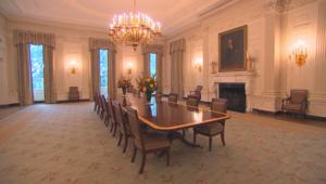شاهد غرفة الطعام في البيت الأبيض بعد تحديثها