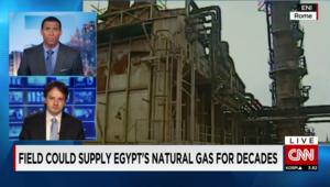 """خبير لـ CNN: """"#اكتشاف_اكبر_حقل_غاز_بمصر"""" سيلبي احتياجات البلاد للطاقة على المدى البعيد"""