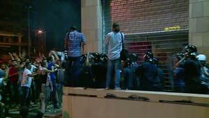 مواجهات بين متظاهرين والأمن اللبناني في بيروت