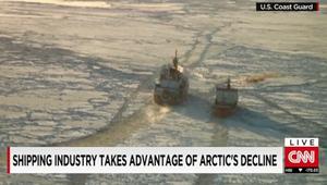 ذوبان الجليد يفتح طرقاً للشحن بين أوروبا وآسيا