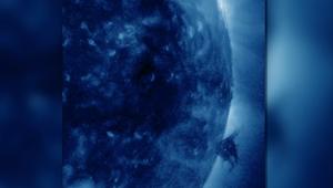 شاهد إعصار على سطح الشمس حرارته 2.8 مليون درجة مؤية