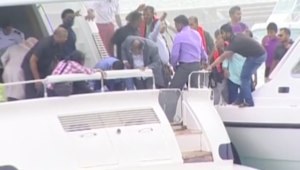 بالفيديو.. نجاة رئيس المالديف من انفجار على زورقه