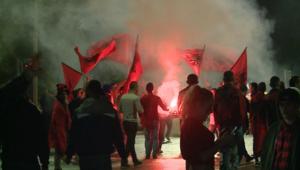 شاهد.. احتفالات تاريخية بتأهل منتخب ألبانيا لكأس أمم أوروبا لأول مرة