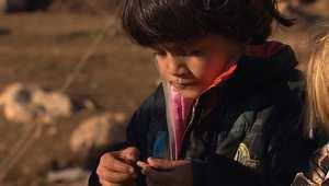 صقيع جبل سنجار يهدد أطفال ونساء الأيزيدين.. ورجالهم يستعدون لساعة الصفر مع داعش
