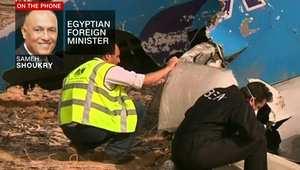 وزير الخارجية المصري لـCNN: قبلنا فورا مشاركة أمريكا بتحقيق الطائرة الروسية.. سبب السقوط يحسمه التحقيق وداعش تنظيم وحشي