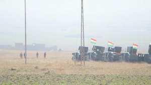 CNN ترصد تعزيزات قوات البيشميرغة لدخول سنجار