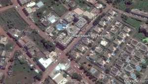 بالخرائط..شاهد الموقع الذي يحتجز فيه الرهائن بمالي