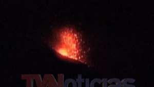 """شاهد لحظة انفجار بركان """"موموتومبو """" في نيكاراغوا"""