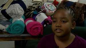 شاهد.. طفلة في السابعة من عمرها تنشئ مؤسسة لمساعدة المحتاجين
