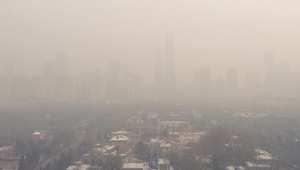 شاهد كيف تشكلت أدخنة الاحتباس الحراري في بكين على مدى 6 أشهر