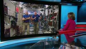 حوار خاص مع أمريكي وروسي في محطة الفضاء الدولية