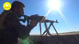 """لقطات من حملة """"قوات سوريا الديمقراطية"""" العسكرية ضد داعش لتحرير كوباني"""