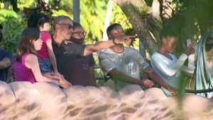 بالفيديو: أوباما في زيارة لحديقة الحيوانات في هاواي