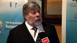 ستيف وزنياك رفيق درب مؤسس آبل ستيف جوبز.. يكشف آماله بمستقبل التكنولوجيا من دبي: المعرفة ثروة تتجاوز النفط