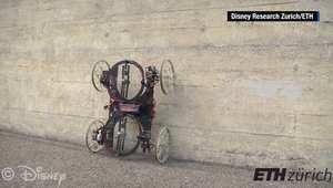 بالفيديو: روبوت جديد يتسلق الجدران.. فهل يغزو أسقف المباني؟