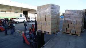 شاهد: استعداد برنامج الأغذية العالمي والأمم المتحدة لإرسال قافلة مساعدات إنسانية إلى مضايا السورية